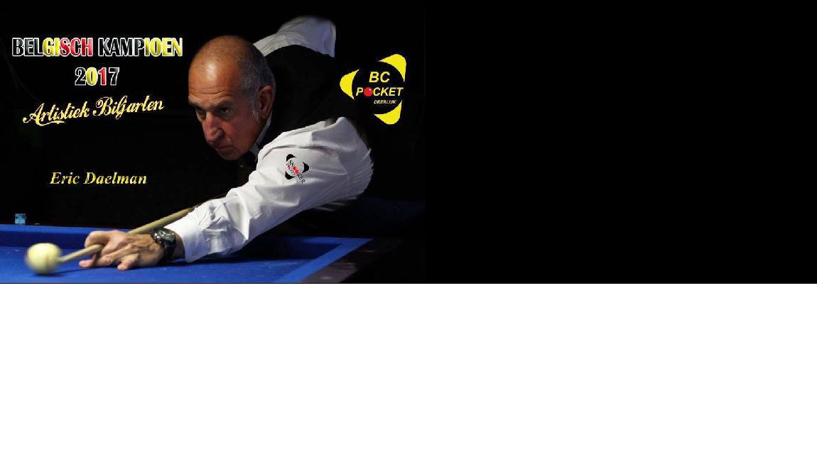 Eric Daelman voor de 4de keer Kampioen van België